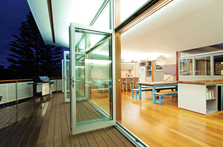 A few of our aluminium doors in Newcastle
