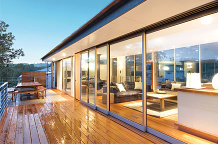 Premier sliding doors in Newcastle